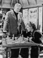 Lana Turner Spencer Tracy George Sidney chess schach ajedrez echecs