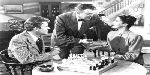 Catharine Graig Albert Dekker W.Lee Wilder chess schach ajedrez echecs