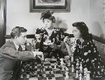 Sue England Jess Barker William Dieterle chess schach ajedrez echecs