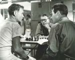 John Mills Richard Attenborough Bryan Forbes Michael Howard Jay Lewis chess schach ajedrez echecs