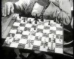 Montgomery Clift Robert Ryan Vincent J. Donehue chess schach ajedrez echecs