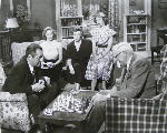 Vera Miles Natalie Wood Ann Doran Jim Backus Clarence Kolb William Beaudine chess schach ajedrez echecs