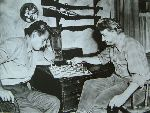 Charlton Heston King Vidor chess schach ajedrez echecs