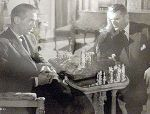 Douglas Fairbanks jr. Sidney Gilliat chess schach ajedrez echecs