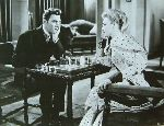 Mai Zetterling Laurence Harvey Muriel Box chess schach ajedrez echecs