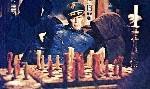 Charlton Heston Boris Sagal chess schach ajedrez echecs